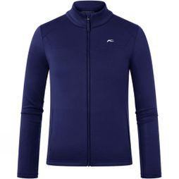KJUS Boy's Charger Midlayer Fleece 14+ Into The Blue