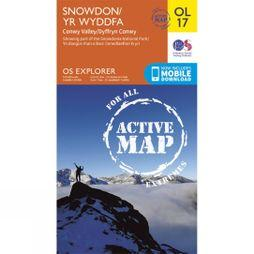 Ordnance Survey Snowdon-Conwy Valley  V15