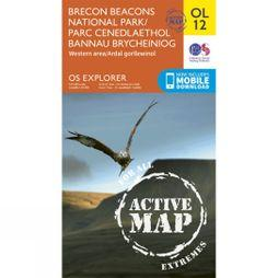 Ordnance Survey Brecon Beacons West V15