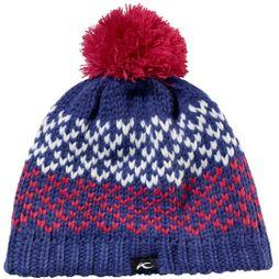 KJUS Kid's Flow Beanie Spectrum Blue/ Geranium