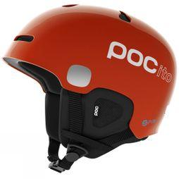 Poc Pocito Auric Cut Spin Snow Helmet FLUORESCENT ORANGE