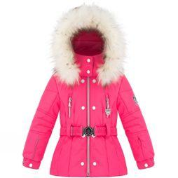Poivre Blanc Girls Belted Mini Jacket           Ambrosia Pink
