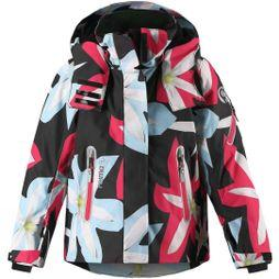 Reima Girls Roxana Print Jacket Black