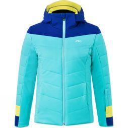 KJUS Girls Madlain Jacket Mystic Sea/Winter Sky