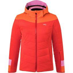 KJUS Girls Madlain Jacket Fiery Red/Kjus Orange