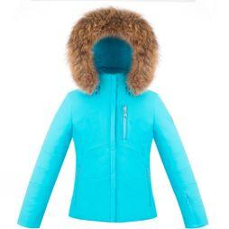 Poivre Blanc Girls Stretch Ski Jacket 14+ Azure Blue