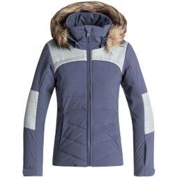 Roxy Girls Bamba Snow Jacket Crown Blue
