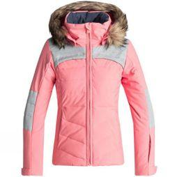 Roxy Girls Bamba Snow Jacket Shell Pink