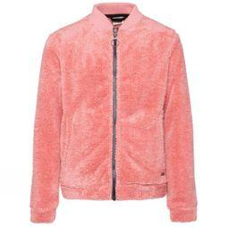 Protest Girl's Igloo Jr Full Zip Fleece Think Pink