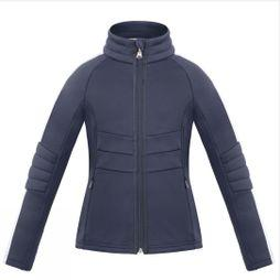 Poivre Blanc Girls Retro Stretch Fleece Gothc Blue