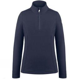 Poivre Blanc Girls 1/4 Zip Fleece Gothic Blue