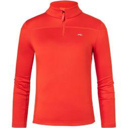 KJUS Girl's Jade Half Zip Fiery Red
