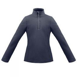 Poivre Blanc Girls Half Zip Fleece 14+  Gothic Blue