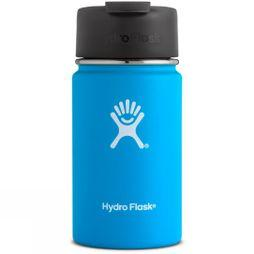 Hydro Flask Wide Mouth 12oz with Flip Lid Flask Pacific Blue