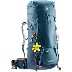 Deuter Women's Aircontact Lite 60+10 SL BAckpack Arctic-Navy