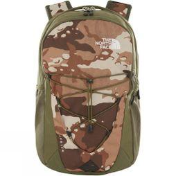 The North Face Jester Rucksack Moab Khaki Woodchip Camo Desert Print/Four Leaf Clover