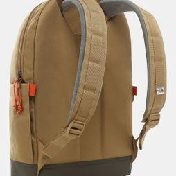 The North Face Daypack Backpack British Khaki/New Taupe Green