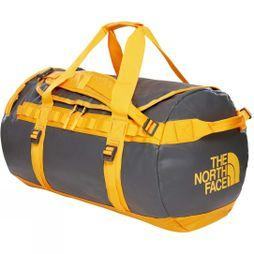 The North Face Base Camp Duffel - M  Asphalt Grey/Zinnia Orange