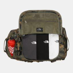 The North Face Base Camp Duffel - M  Burnt Olive Green Waxed Camo Print/Burnt Olive Green