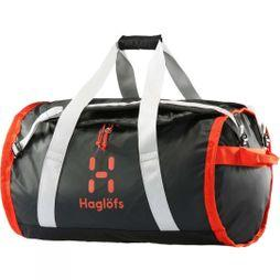 Haglofs Lava 90 Duffel Bag True Black/Habanero