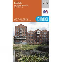 Ordnance Survey Explorer Map 289 Leeds V15
