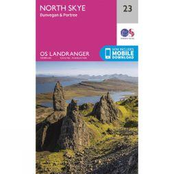 Ordnance Survey Landranger Map 23 North Skye V16