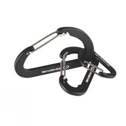 Lifeventure Karabiner 3 Pack No Colour