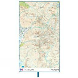 Lifeventure SoftFibre Ordnance Survey Travel Towel Scafell Pike