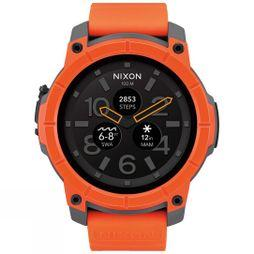Nixon The Mission Watch Orange/Grey/Black