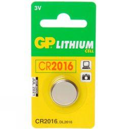 GP Batteries CR 2016 Lithium x 1 No Colour