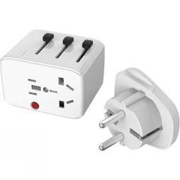 Lifesystems Syst Travel Adaptor White