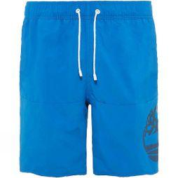 Timberland Mens Sunapee Lake Logo Swim Shorts Turkish Sea