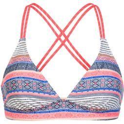 Protest Womens Superbird Triangle Bikini Top Seashell