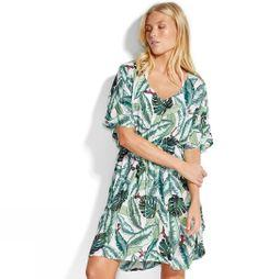 Seafolly Womens Palm Beach Kaftan MOSS MOSS