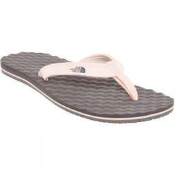 The North Face Women's Base Camp Mini Sandal Rabbit Grey/Pink Salt