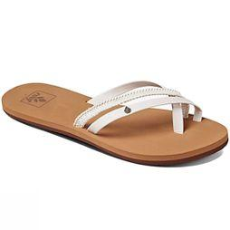 Reef Women's O'Contrare LX Flip Flops White