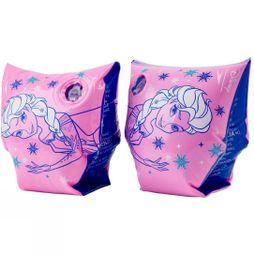 Speedo Childrens Disney Frozen Printed Armbands Pink Splash