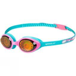 Speedo Youth Illusion Goggle Bali Blue/Vegas Pink/Nautilus Hologram