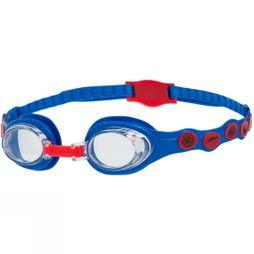 Speedo Childrens Disney Spot Goggle Neon Blue/Lava Red/Clear
