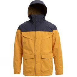 Burton Men's Breach Jacket Golden Root/ Trocadero
