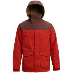 Burton Men's Breach Jacket Bitters/ Chestnut Waxed