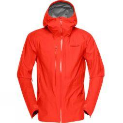 Norrona Mens Lofoten Gore Tex Active Jacket Adrenalin