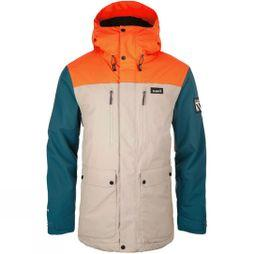 Planks Mens Good Times Jacket Mushroom