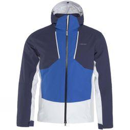 Head Mens Glacier Jacket Nautical Blue/ White