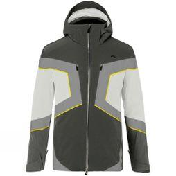 KJUS Mens Speed Reader Jacket Dark Dusk White