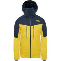 The North Face Mens Chakal Jacket Leopard Yellow/ Urban Navy