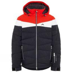 J.Lindeberg Mens Crillon Down JL 2L Jacket Racing Red