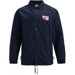 Analog Mens Sparkwave Jacket Mood Indigo