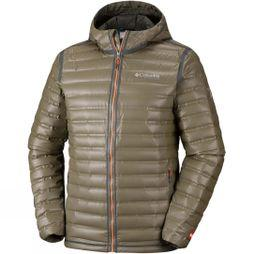 Columbia Mens Outdry Ex Gold Down Hooded Jacket Peatmoss