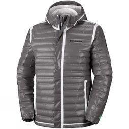 Columbia Mens Outdry Ex Eco Down Jacket Bamboo Charcoal